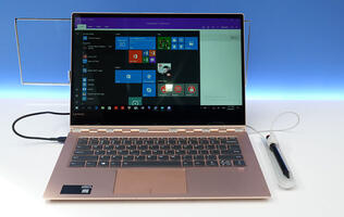 The Lenovo Yoga 920 is an evolution of a familiar design