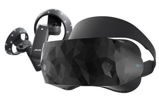 ASUS' Windows Mixed Reality Headset has a fancy polygonal design and a steep price tag