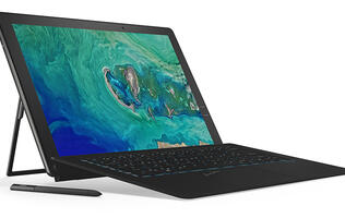The Acer Switch 7 Black Edition is a powerful alternative to the Surface Pro