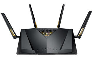 ASUS' new RT-AX88U router offers up to 5,962Mbps thanks to the new 802.11ax standard