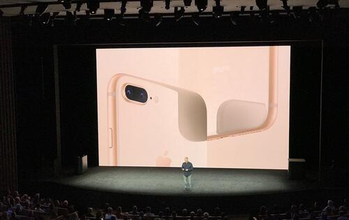 Apple announces the iPhone 8 and 8 Plus with wireless charging and glass backs