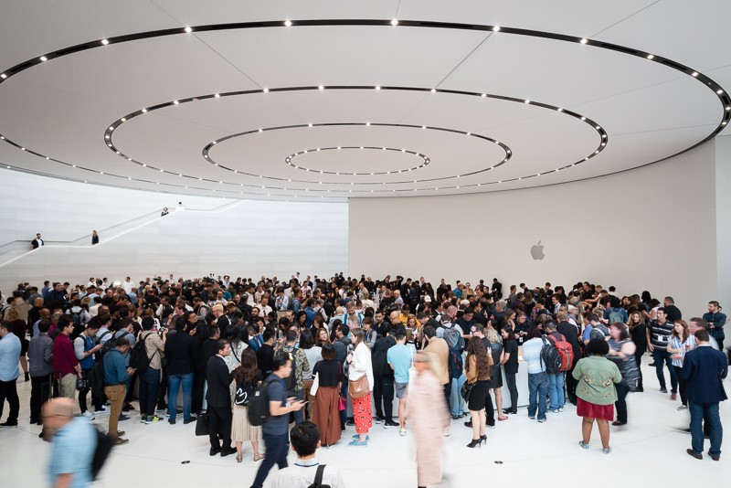 In pictures: the beauty of the Steve Jobs Theatre