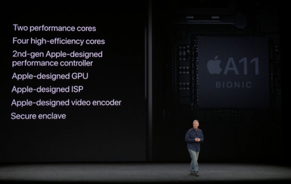 Early benchmarks show Apple's A11 Bionic chip to be as fast as a 13-inch MacBook Pro