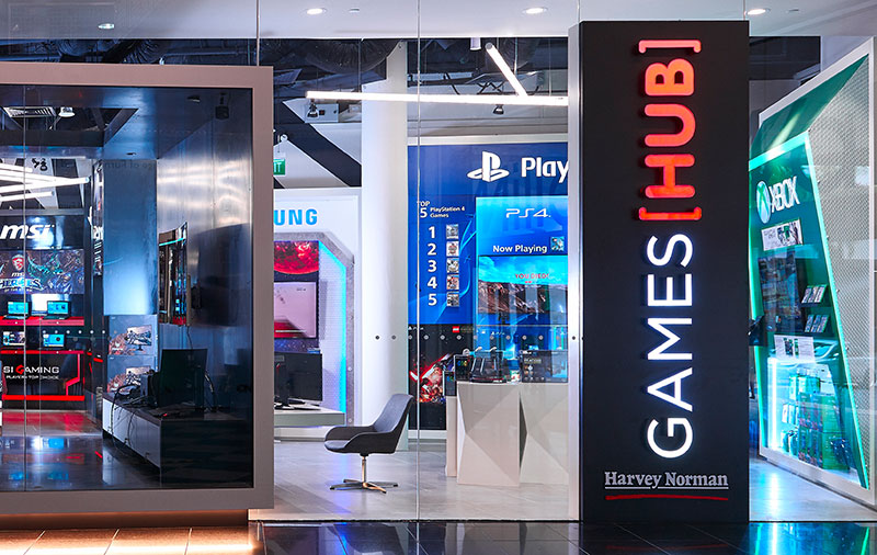 Harvey Norman Games Hub is having a 2-day gaming extravaganza this weekend to celebrate its first birthday