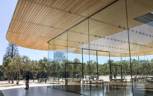 In pictures: a sneak peek at the new Apple Park Visitor Center