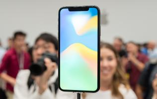 The iPhone X might not have the highest screen-to-body ratio