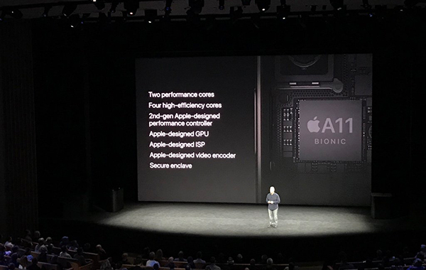 Apple's new A11 Bionic chip blows all other Android phones out of the water