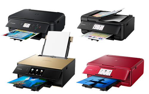 Canon updates its Pixma lineup with 4 new photo and office all-in-one printers