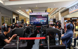 Harvey Norman Games Hub kicks off a weekend of games at its flagship Millenia Walk superstore
