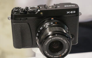 In Pictures: Fujifilm's latest X-series camera, the svelte X-E3