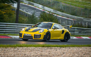 Porsche 911 GT2 RS sets new Nürburgring world record