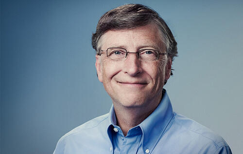 Microsoft co-founder Bill Gates is using an Android phone