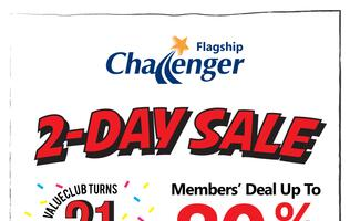 Deal alert: 8 deals you cannot miss at Challenger Bugis Junction 2-day sale