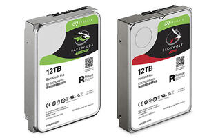 Seagate releases massive 12TB Guardian series HDDs targeted at consumers