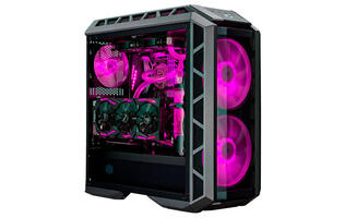 The Cooler Master MasterCase H500P was built to help you show off your rig