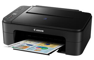 The Canon Pixma Ink Efficient E3170 is an affordable all-in-one printer that offers high quality prints