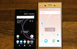 A feature on Sony Xperia XZ1 Compact