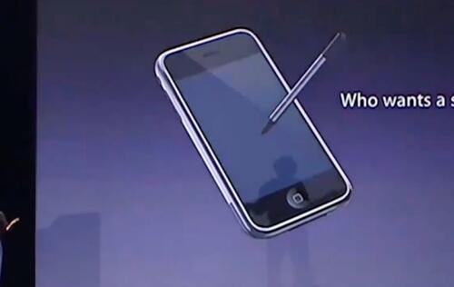 Apple said to be exploring an iPhone with a stylus