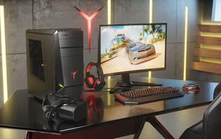 Lenovo's new Legion desktops look to appeal to both casual gamers and pros