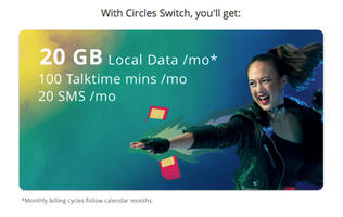 You can now try Circles.Life's 20GB mobile plan for free until the end of the year