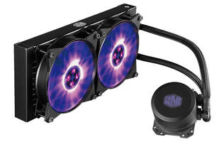 Cooler Master's MasterLiquid ML120L and ML240L RGB AIO coolers can be synced to your motherboard's lighting