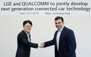 LG and Qualcomm team up to develop next-gen connected car technologies