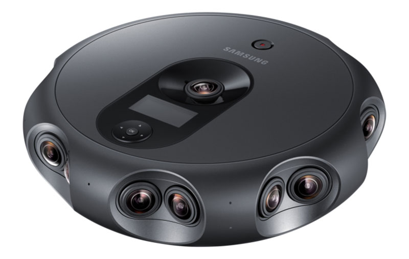 The Samsung 360 Round is a VR camera with 17 lenses