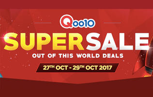 What to buy at Qoo10's Super Sale event that's happening from Oct 27 to 29
