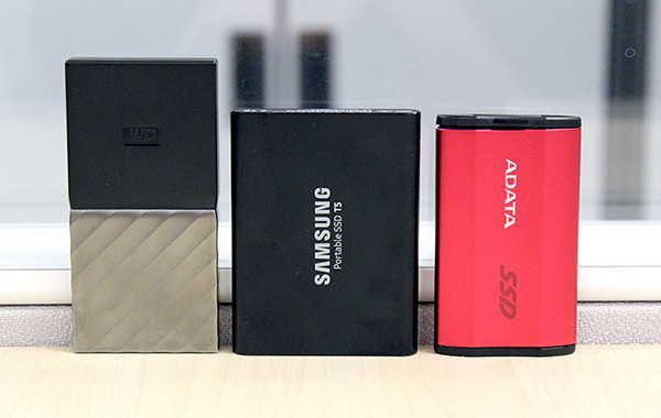 Portable External SSD Shootout: ADATA SE730H vs. Samsung Portable SSD T5 vs. WD My Passport SSD