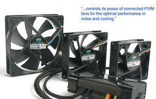 First Looks: Cooler Master Wind Rider PWM Fan Hub