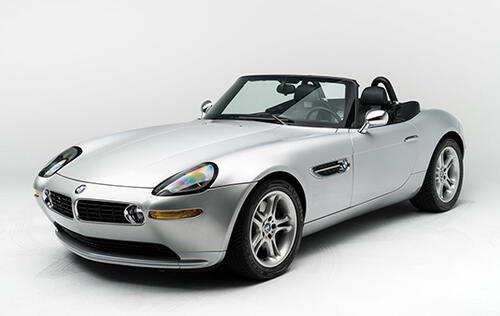 You now have the chance to own Steve Jobs' BMW Z8