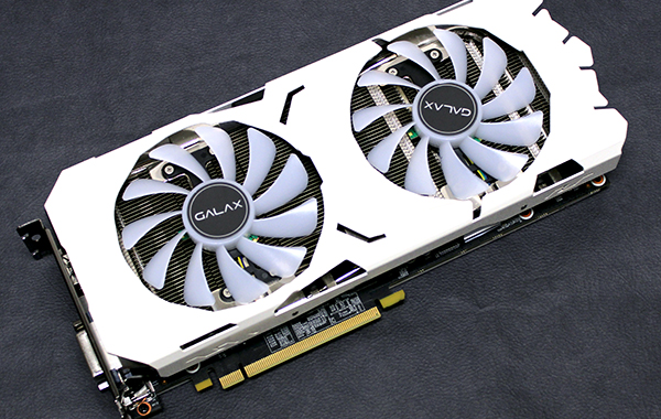 Galax GeForce GTX 1070 Ti EX-SNPR White: The card you want for Christmas