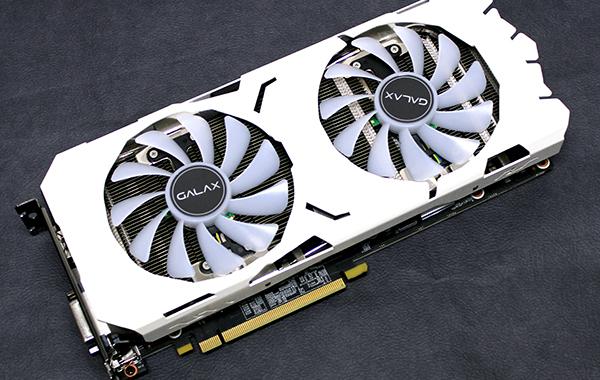 Galax GeForce GTX 1070 Ti EX-SNPR White: The card you want