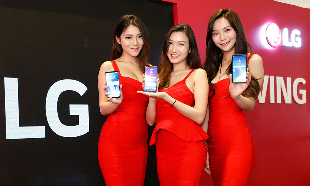 LG launches the LG V30+ in Singapore, will be available in December