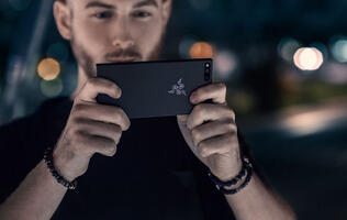 The Razer Phone runs stock Android and comes with a speedy 120Hz display and 8GB of RAM