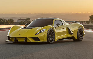 The Hennessey Venom F5 is a 1,600hp beast straight out from Texas
