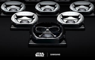 Samsung Powerbot Star Wars Special Edition VR7000 robot vacuum cleaner now here