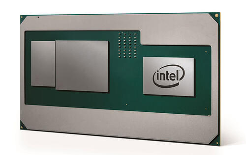 Intel's 8th-generation mobile processors will feature discrete graphics from AMD