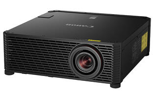 The Canon 4K600Z is a 4K laser projector with a 1.76x zoom lens