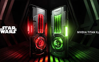 NVIDIA makes two Star Wars Titan Xp GPUs for supporters of the Jedi Order and Galactic Empire