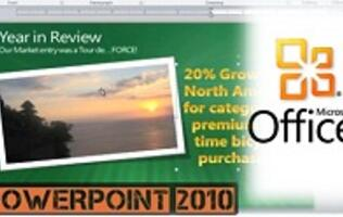 MS Office 2010 Top Features - Part 2: PowerPoint, Excel and Office Web Apps