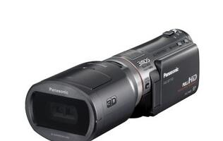 Panasonic announces World's First AVCHD-Based 3D-Capable Consumer Camcorder, Pocket HD Camcorder and more