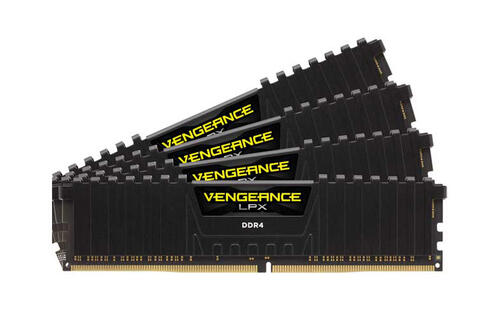 Corsair's 32GB DDR4-4333 Vengeance LPX memory kit is the fastest of its kind
