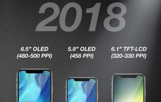 iPhone X Plus and a bigger, full-screen LCD iPhone model to launch in 2018?