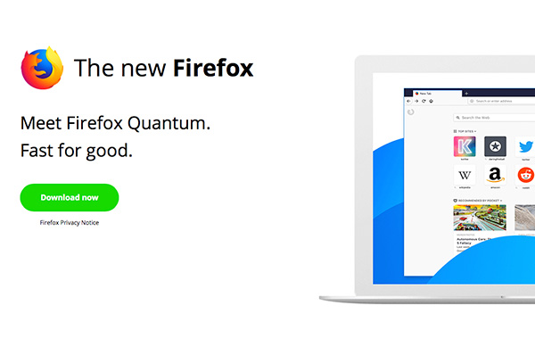 Firefox introduces Firefox Quantum, the fastest Firefox browser yet