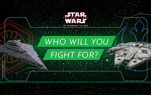 Master the Force with Grab's latest promotion