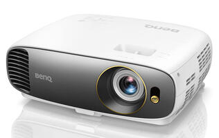 The affordable BenQ CineHome W1700 is a 4K DLP projector that also supports HDR10 and 3D
