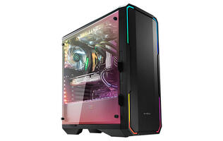 BitFenix's Enso chassis shows off your hardware with tempered glass and addressable RGB LEDs