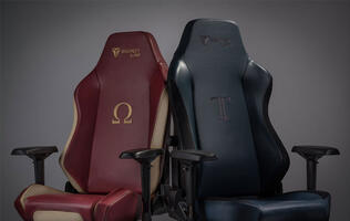 Secretlab clothes its Omega and Titan chairs in soft and supple napa leather