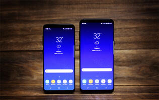 The Galaxy S9 might have slimmer bezels than the Galaxy S8+